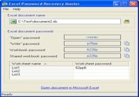 Excel Password Recovery Master pour mac