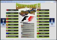 Championnat F1 2011 pour mac