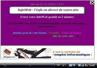 InfoWeb pour mac