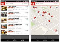 Yelp Android pour mac