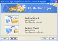 Outlook Express Backup Tiger pour mac