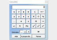 Calculatrice CalcCF pour mac