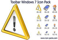 Toolbar Windows 7 Icon Pack pour mac