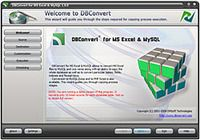 DBConvert for Excel & MySQL