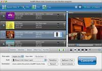 AnyMP4 iPhone Vidéo Convertisseur pour Mac pour mac