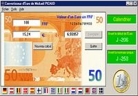 Convertisseur d'euros pour mac