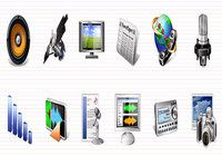 Multimedia Icons Vista pour mac