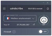 Windscribe  pour mac