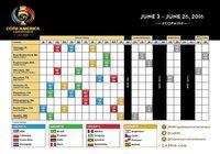 Calendrier de la Copa America 2016   pour mac