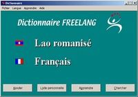 Dictionnaire Freelang pour mac