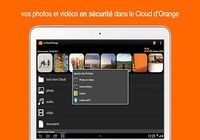 le Cloud d'Orange iOS pour mac