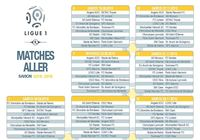 Calendrier officiel Ligue 1 2015/2016 pour mac