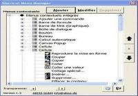 Excel Shortcut Menu Manager pour mac