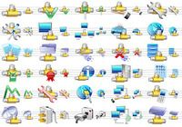Small Network Icons pour mac