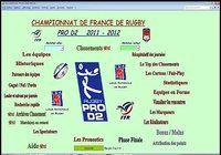 Pro D2  2011-2012 pour mac
