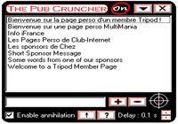 The Pub Cruncher