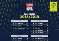 Calendrier OL Ligue 1 2018-2019  pour mac