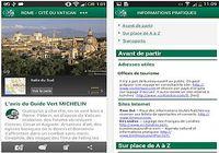 Michelin Voyage iOS pour mac