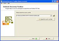 Outlook Recovery Toolbox pour mac