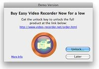 Easy Video Recorder for Mac pour mac