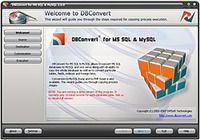 DBConvert for MS SQL & MySQL pour mac