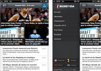 Basket USA iOS pour mac