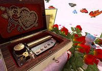 Valentine Musicbox 3D Screensaver pour mac