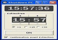 shutdown pc pour mac
