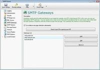 SMTP Relay Server pour mac