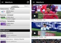 Matchs.tv iOS pour mac