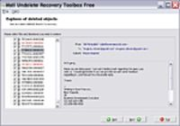 Mail Undelete Recovery Toolbox Free pour mac
