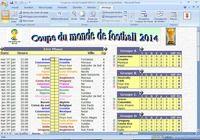 Calendrier suivi Coupe du monde 2014