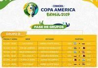 Calendrier Phase de Groupes Copa America 2019 pour mac