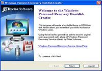 Windows Password Recovery Bootdisk pour mac