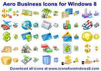 Aero Business Icons for Windows 8 pour mac