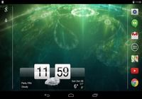 Sense Flip Clock & Weather Android pour mac