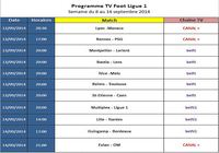 Programme TV Ligue 1 pour mac