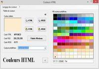 Couleurs HTML pour mac