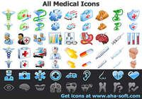 All Medical Icons pour mac