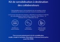 Kit de sensibilisation à destination des collaborateurs pour mac