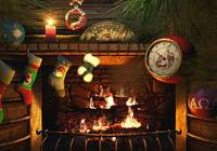 Fireside Christmas 3D Screensaver