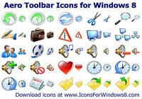 Aero Toolbar Icons for Windows 8 pour mac