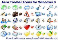 Aero Toolbar Icons for Windows 8 pour mac
