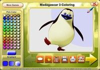 Madagascar 3 Coloring
