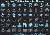 Medical Tab Bar Icons for iPhone pour mac