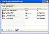 Firefox Password Recovery Master pour mac