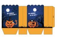 Pochette carte cadeau Halloween pour mac