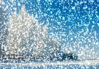 Snowy Desktop 3D Screensaver pour mac