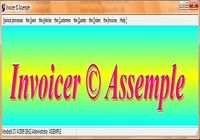 Invoicer © Assemple pour mac