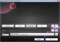 Free MP4 Video Converter pour mac
